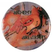 Dire Straits - 'Alchemy' Button Badge